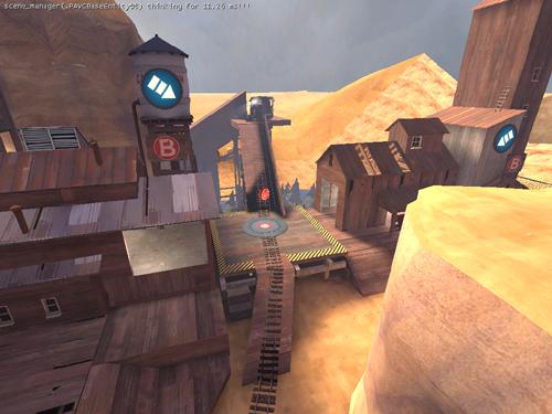 自作マップ紹介 cp_mining_coaster